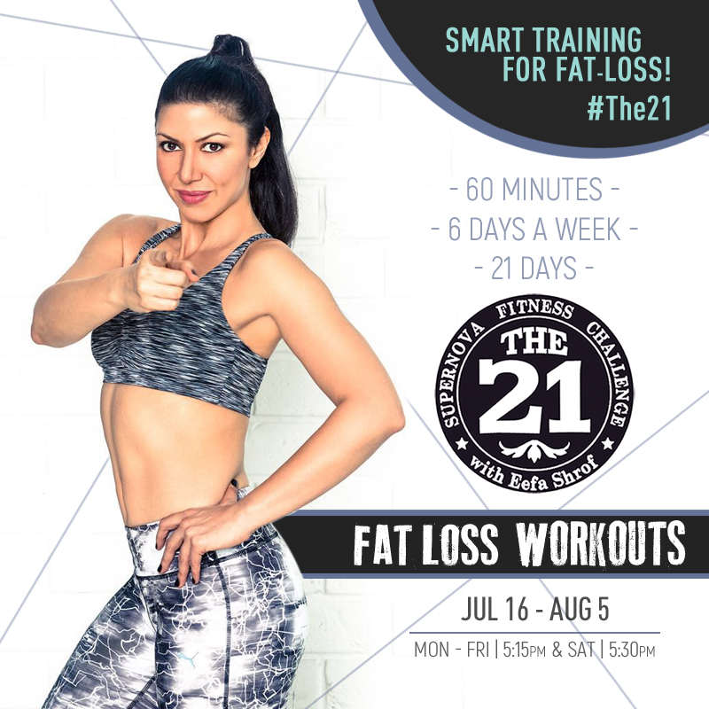 The21 fat loss poster